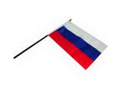 Флаг России 15*22,5см без герба, с подставкой