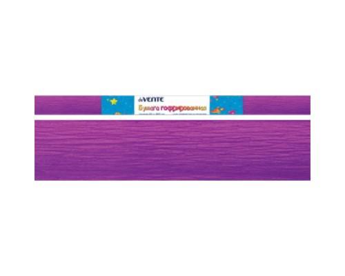 Бумага крепированная deVENTE 32 г/м, 50x250см. лиловая