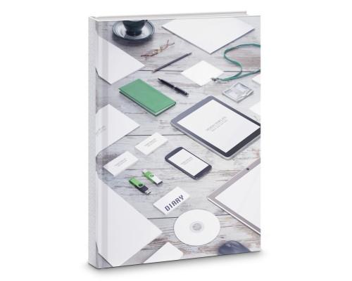 Ежедневник (недатированный) А5 112 листов Стильный офис